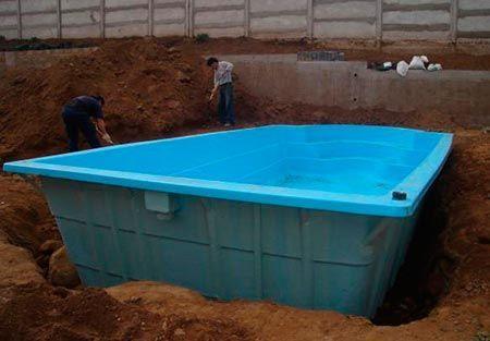 piscina prefabricada construccion